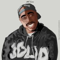 A thought for Tupac by joliokabi