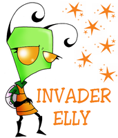 Invader Elly for Bob by Chloemew4ever