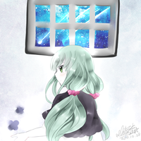 Vocaloid - Telomere no Ubugoe by ChasersFlyersRunners