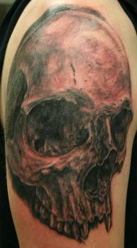 Skull2 by tattooedone