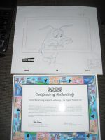 Production Drawing From Courage The Cowardly Dog 2 by Courage09