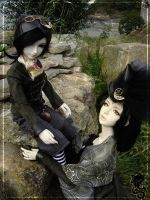 BJD outfit : soft-steampunk002 by lysel