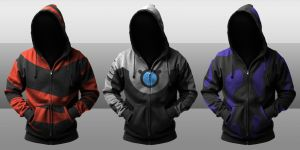 Batman Beyond Villain Hoodies by seventhirtytwo