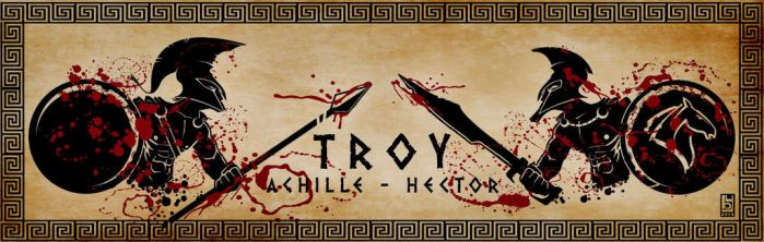 Troy: Achille vs Hector by hannibal870