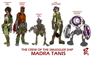 The Crew of the Madra Tanis by Grigori77