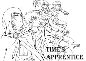 WIP Time's Apprentice -Possible Cover-  WIP by Atrieisan