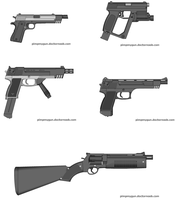 Just some 0.6 handguns II by Robbe25