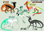 CLOSED//MTT adoptables - round 25 by annicron