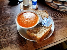 Tomato soup by Thundred