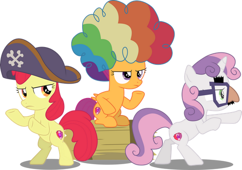 [Vector] Cutie Mark Crusaders #1 by PaganMuffin