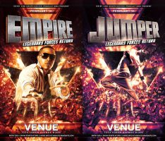 Empire Flyer Template by deiby