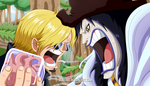 One Piece 795 - Arguing with the kidnapped by SergiART