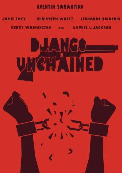 Django Unchained Movie Poster by elbichopt