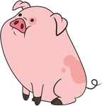 Waddles vector by MF99K