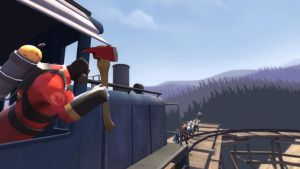 Train Escape 2 by SpaceFishInSpace