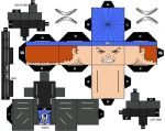 Cubee Craft Captain Boomerang DC Supe by handita2006