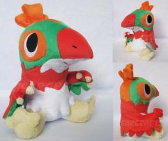 Pokemon Time Hawlucha by GearCraft