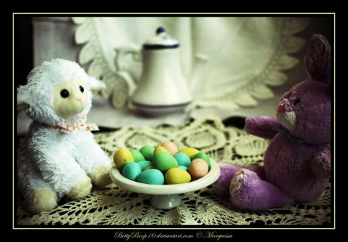 Easter tea by MarquessaPhotography