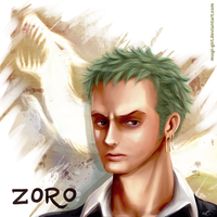 Zoro Portrait by Mugi-girl