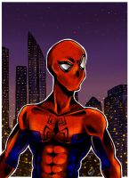 Spider Man by tonbo-kun