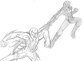 Spiderman Brother vs Brother by Taiya001