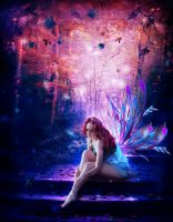The fairy in the wood by Iulia237