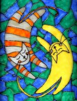 Striped cats by Letha-ck