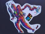 science fiction graff by cube by graffcity20