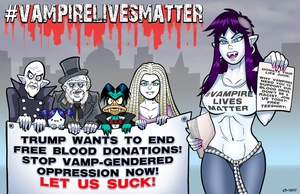 Oppressed Vamp Protest by curtsibling