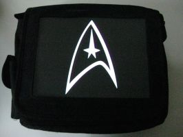 Glowing Bag - Star Trek Logo by techgeekgirl