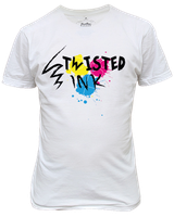 Prototype of Twisted Ink on T-shirt by nin0