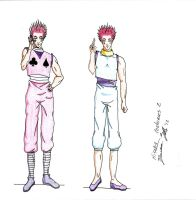Hisoka Costumes Page 2 by DJesterS