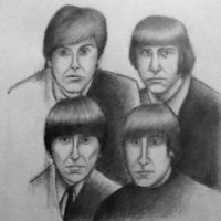 The Beatles by Nobody-Parks-Here