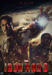 Iron Man 3 (Fan Made) Movie Poster by DiamondDesignHD