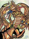 Red Eyes Winged Dragon of Ra by The-Katherinator