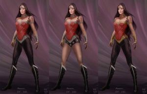 Wonder Woman Relaunch Costumes by NigelHalsey