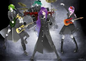 vocaloid Visual band by RoezNoah917