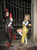 Maria And Bayonetta by cinny-chan