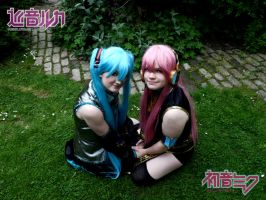 LukaXMiku- Just Be Friends...? No. by DreamsOverRealityCos