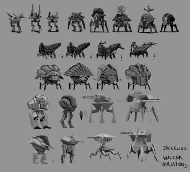 Walkers - Concepts by jackellice