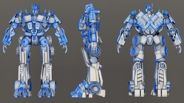 Optimus prime wire by pranayk