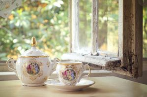 Tea Service by dalay-lamma