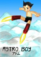 Astro Boy by whitestarflower