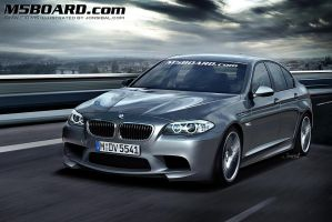 2011 BMW M5 by jonsibal