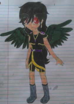 Dark Emerald (My Kid Icarus OC) by SnivyFennkinGirl
