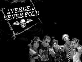 Avenged Sevenfold Wallpaper by Sewerep5