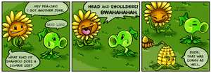 Punny Sunny - Plants vs Zombies - 3 by Nestly