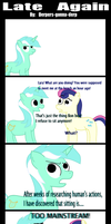 Late Again by Derpers-Gonna-Derp