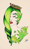 Gaga cannabis princess by Ritorumonsuta