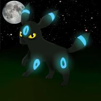 Shiny Umbreon by nightpooll